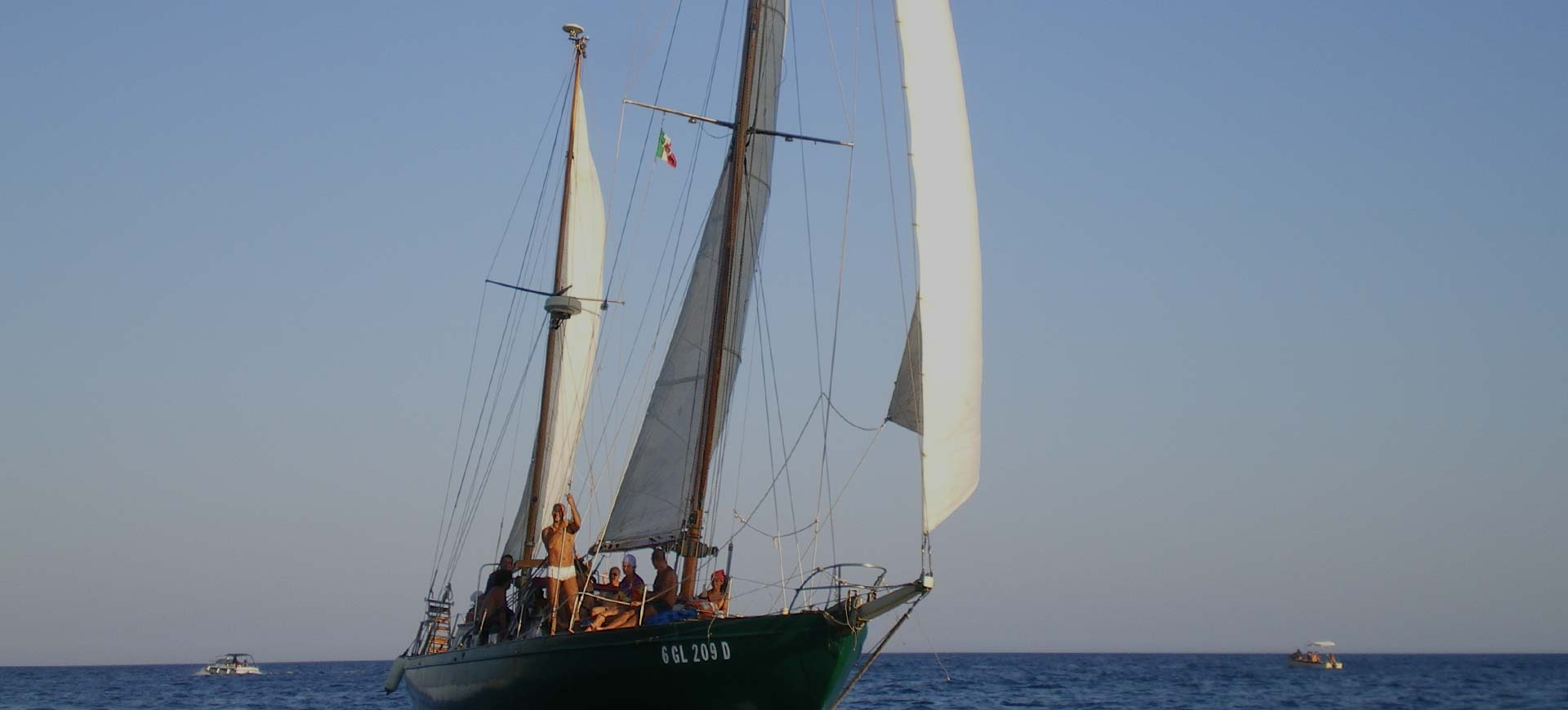 Sailing boat excursions in Salento